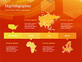 Abstract Orange Bokeh Background PowerPoint Template#48