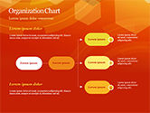 Abstract Orange Bokeh Background PowerPoint Template#53