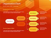 Abstract Orange Bokeh Background PowerPoint Template#54