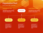 Abstract Orange Bokeh Background PowerPoint Template#55