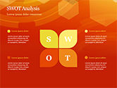 Abstract Orange Bokeh Background PowerPoint Template#57
