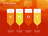 Abstract Orange Bokeh Background PowerPoint Template#58