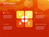 Abstract Orange Bokeh Background PowerPoint Template#59