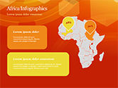 Abstract Orange Bokeh Background PowerPoint Template#61