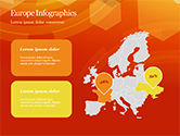 Abstract Orange Bokeh Background PowerPoint Template#62
