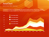 Abstract Orange Bokeh Background PowerPoint Template#67