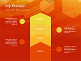Abstract Orange Bokeh Background PowerPoint Template#68