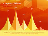 Abstract Orange Bokeh Background PowerPoint Template#70