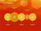 Abstract Orange Bokeh Background PowerPoint Template#71