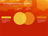 Abstract Orange Bokeh Background PowerPoint Template#72