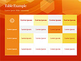 Abstract Orange Bokeh Background PowerPoint Template#79