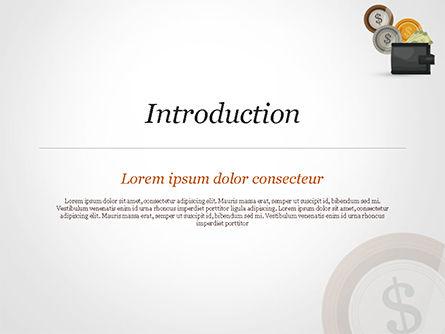 Cash PowerPoint Template, Slide 3, 14782, Financial/Accounting — PoweredTemplate.com