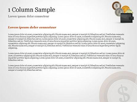 Cash PowerPoint Template, Slide 4, 14782, Financial/Accounting — PoweredTemplate.com
