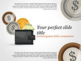 Financial/Accounting: Cash PowerPoint Template #14782