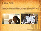 Cup of Coffee PowerPoint Template#11