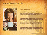 Cup of Coffee PowerPoint Template#15