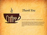 Cup of Coffee PowerPoint Template#83