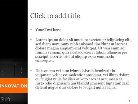 Innovation Shift PowerPoint Template, Slide 3, 14784, Business — PoweredTemplate.com
