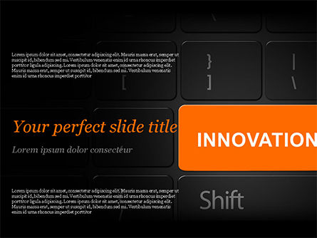 Innovation Shift PowerPoint Template, 14784, Business — PoweredTemplate.com