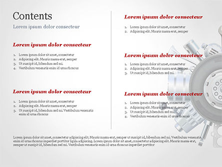 Car Replacement Parts PowerPoint Template, Slide 2, 14785, Cars and Transportation — PoweredTemplate.com