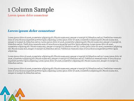 Upward Arrows Theme PowerPoint Template Slide 4
