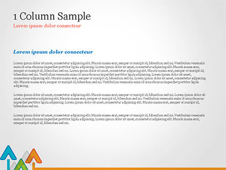Upward Arrows Theme PowerPoint Template, Slide 4, 14786, Business Concepts — PoweredTemplate.com