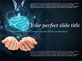 Technology and Science: Artificial Intelligence for Business PowerPoint Template #14789