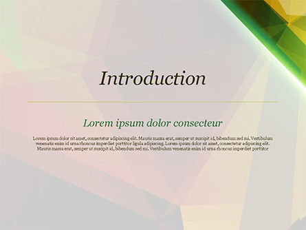Abstract Background Design PowerPoint Template, Slide 3, 14790, Agriculture — PoweredTemplate.com
