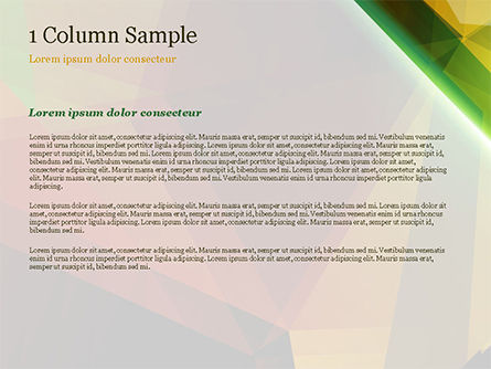 Abstract Background Design PowerPoint Template, Slide 4, 14790, Agriculture — PoweredTemplate.com