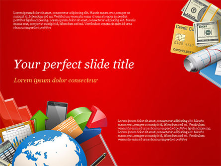 Global Business Concept PowerPoint Template, 14791, Business Concepts — PoweredTemplate.com