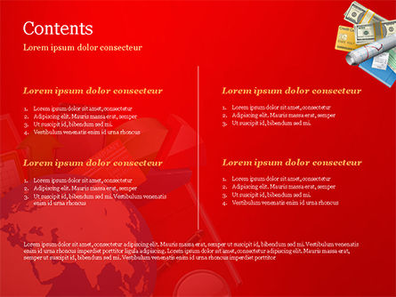 Global Business Concept PowerPoint Template, Slide 2, 14791, Business Concepts — PoweredTemplate.com