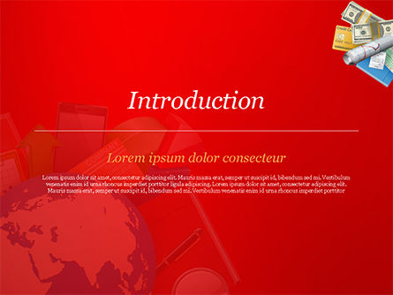 Global Business Concept PowerPoint Template, Slide 3, 14791, Business Concepts — PoweredTemplate.com