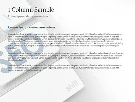 Keyboard with SEO Button PowerPoint Template Slide 4