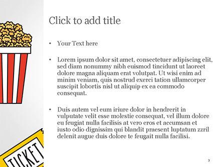 Hand Drawn Entertainment Symbols PowerPoint Template, Slide 3, 14798, Art & Entertainment — PoweredTemplate.com
