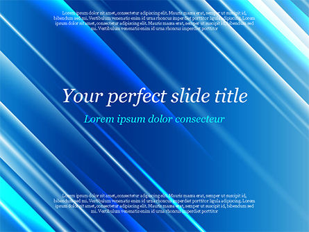 Abstract/Textures: Plantilla de PowerPoint - azul diagonal resumen movimiento de fondo #14799