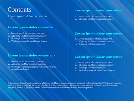 Blue Diagonal Abstract Motion Background PowerPoint Template, Slide 2, 14799, Abstract/Textures — PoweredTemplate.com