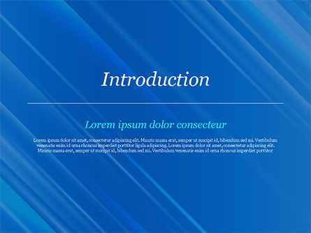 Blue Diagonal Abstract Motion Background PowerPoint Template, Slide 3, 14799, Abstract/Textures — PoweredTemplate.com