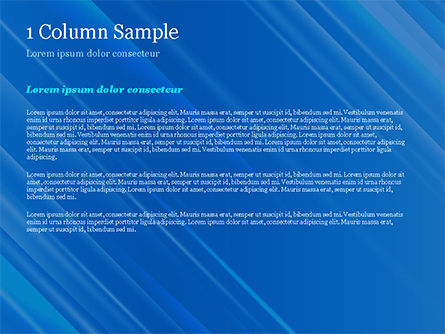 Blue Diagonal Abstract Motion Background PowerPoint Template, Slide 4, 14799, Abstract/Textures — PoweredTemplate.com
