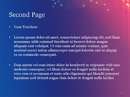 Data Acquisition PowerPoint Template, Slide 2, 14805, Technology and Science — PoweredTemplate.com