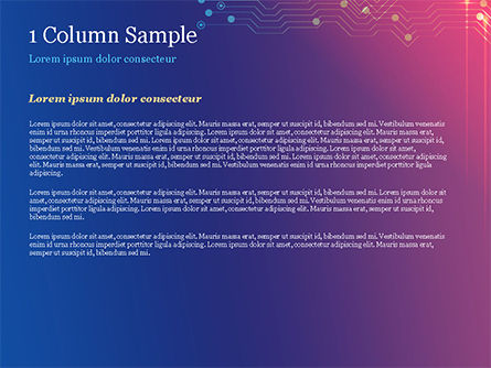 Data Acquisition PowerPoint Template, Slide 4, 14805, Technology and Science — PoweredTemplate.com