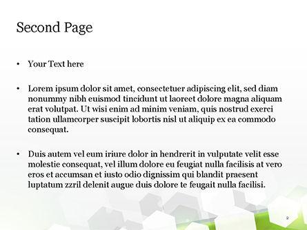 Abstract Hexagons PowerPoint Template, Slide 2, 14808, Abstract/Textures — PoweredTemplate.com