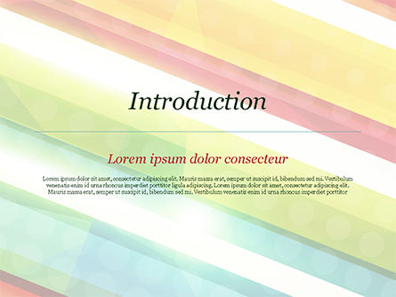 Colorful Diagonal Stripes PowerPoint Template, Slide 3, 14811, Abstract/Textures — PoweredTemplate.com