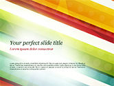 Abstract/Textures: Kleurrijke Diagonale Strepen PowerPoint Template #14811