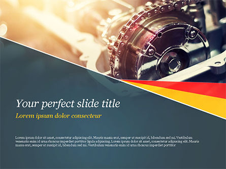 Car Engine PowerPoint Template