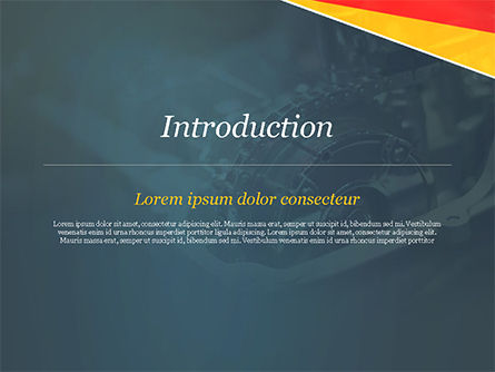 Car Engine PowerPoint Template, Slide 3, 14813, Cars and Transportation — PoweredTemplate.com