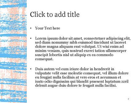 Abstract Hand Draw Crayon Paper Texture PowerPoint Template, Slide 3, 14815, Art & Entertainment — PoweredTemplate.com