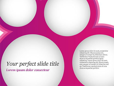 Circles and Spheres PowerPoint Template, 14821, Abstract/Textures — PoweredTemplate.com