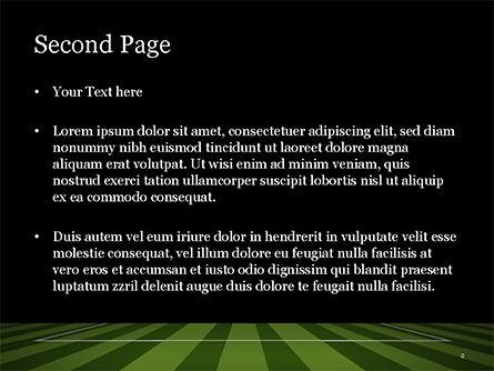 Soccer Ball On Eleven-meter Mark PowerPoint Template, Slide 2, 14825, Sports — PoweredTemplate.com