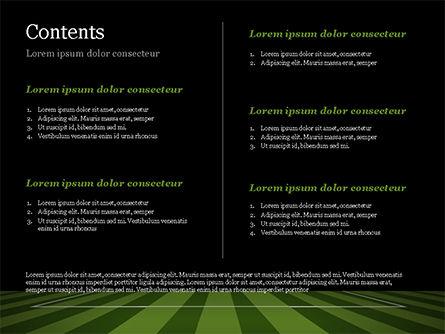 Soccer Ball On Eleven-meter Mark PowerPoint Template Slide 2