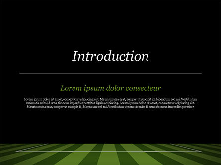 Soccer Ball On Eleven-meter Mark PowerPoint Template Slide 3